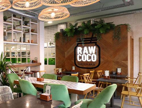 Raw Coco Madrid. Interiorismo. Portada